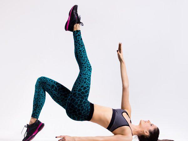 5 Exercícios para ter uns abdominais definidos- Starfish crunch