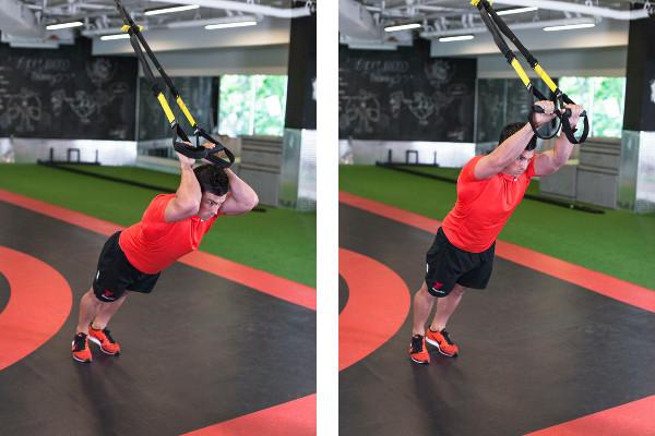 5 Exercícios para ter uns braços mais firmes e tonificados-TRX tricep