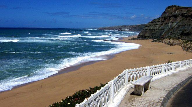 5 das mais belas praias ao redor de Lisboa - Praia da Areia Branca