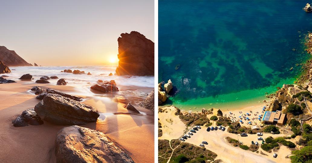 5 das mais belas praias ao redor de Lisboa