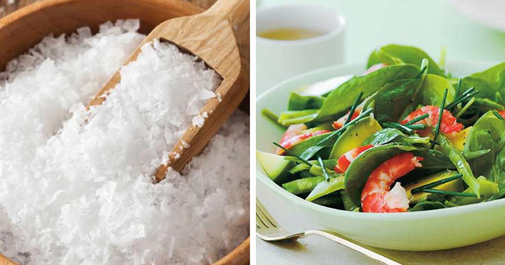 Flor de sal – uma opção mais saudável + salada irresistível