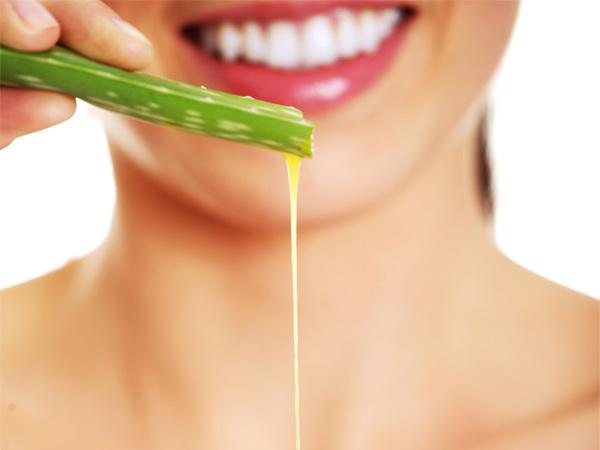 Dicas saudáveis: 10 Benefícios do Aloe Vera- Melhora a nossa saúde oral