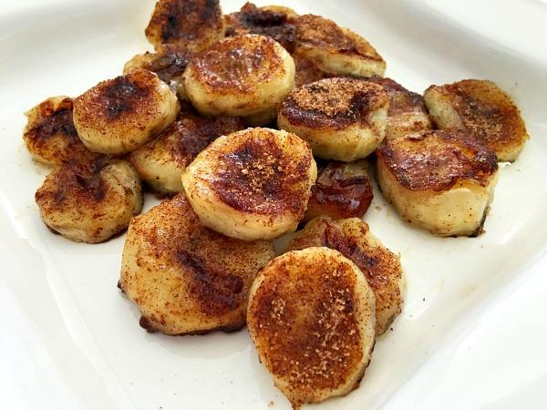 5 Receitas deliciosas e saudáveis com banana- Banana com canela