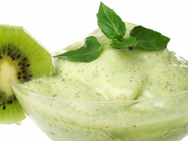 3 Gelados saudáveis e irresistíveis para os dias quentes- Gelado refrescante de kiwi