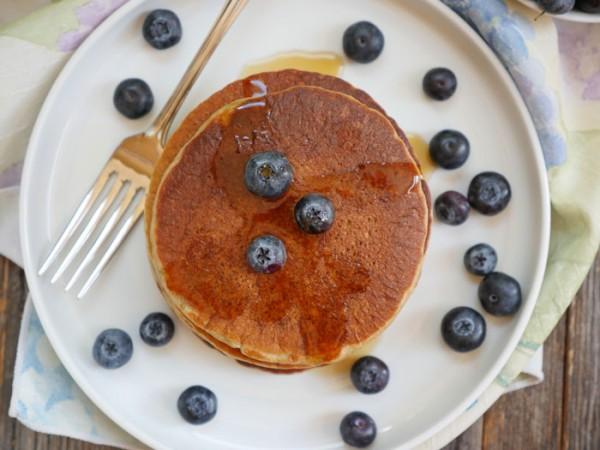 5 Receitas deliciosas e saudáveis com banana-Panqueca de banana