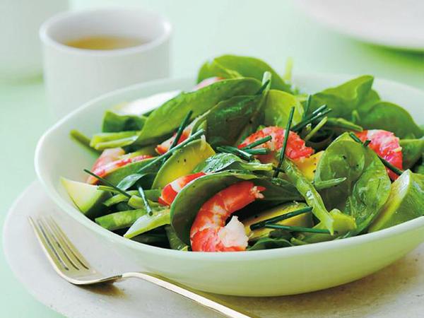 Benefícios da flor de sal para à sua saúde- Receita de salada fresca de camarão com gengibre