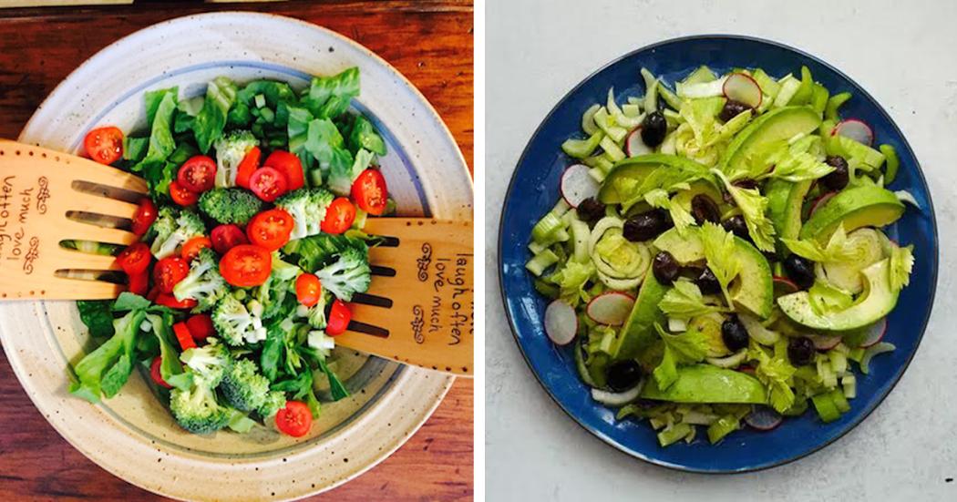 2 Saladas para combater os excessos e desintoxicar o organismo