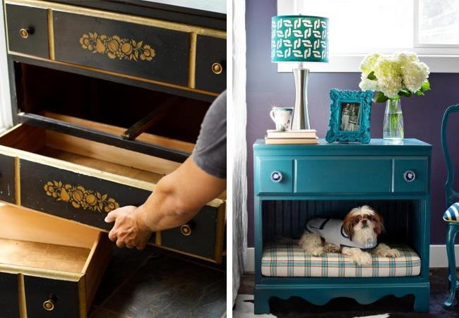 10 ideias giras e fáceis para renovar móveis antigos