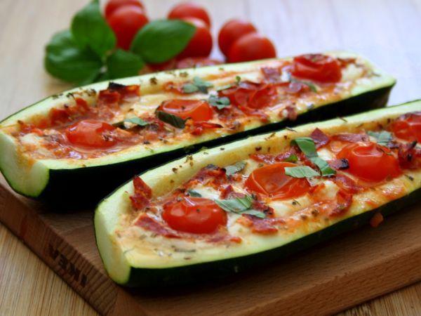 10 Aperitivos saudáveis para comer neste verão-Bruschetta de courgette
