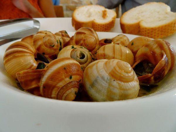 10 Aperitivos saudáveis para comer neste verão- Caracóis