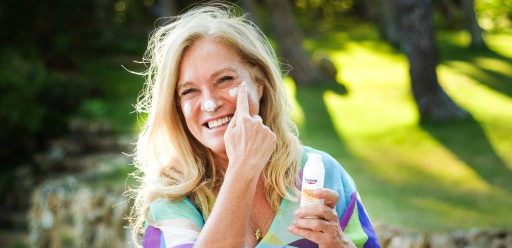 Protector solar de rosto – A minha escolha