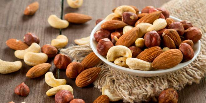 Os melhores alimentos para o cérebro - Frutos secos