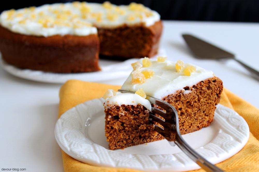 Receita de bolo de gengibre com canela e limão- Bolo de gengibre com canela e mel