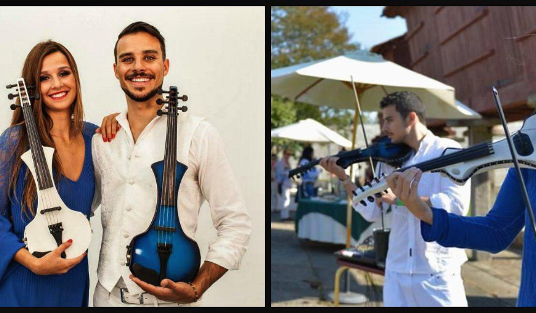 Blue & White Strings Duet – o som mágico do seu casamento