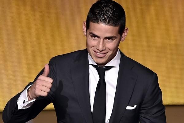 Os 10 jogadores de futebol mais bonitos do mundo- James Rodríguez