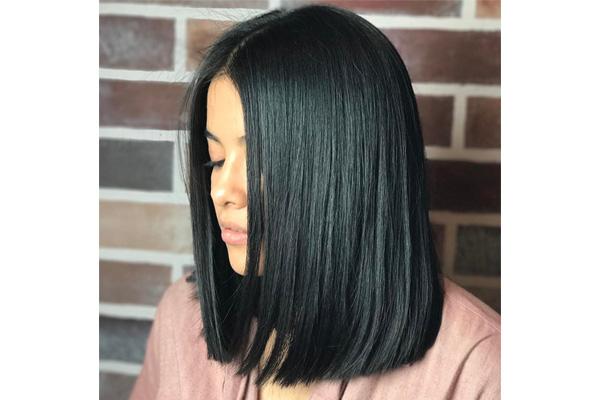 Tendências de cortes de cabelo em 2018- Blunt cut