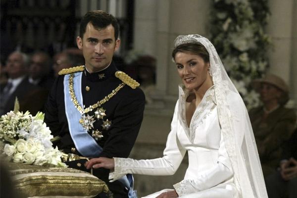 Casamentos mais deslumbrantes do mundo- Felipe de Bourbon e Letizia Ortiz