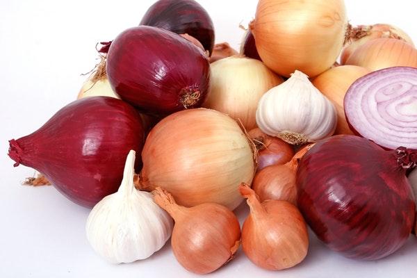 Alimentos que devemos consumir todos os dias- Alho e cebola
