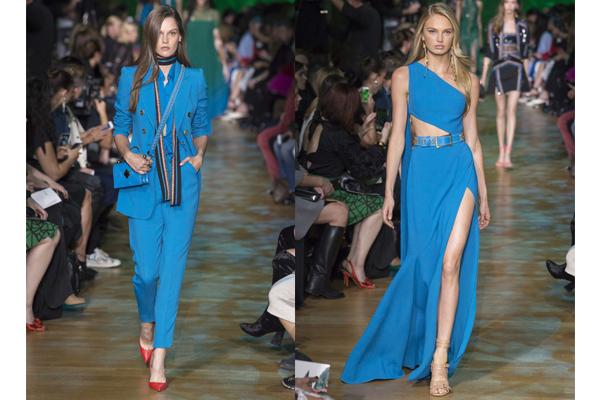 Tendências de cores de roupa de verão 2018- Azul