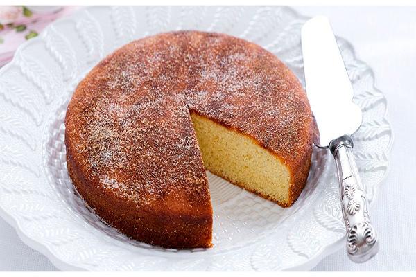 Receita do bolo tradicional de canela - Delicie-se