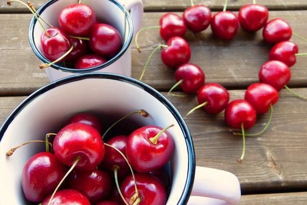 Alimentos que pode consumir antes de ir dormir- Cerejas