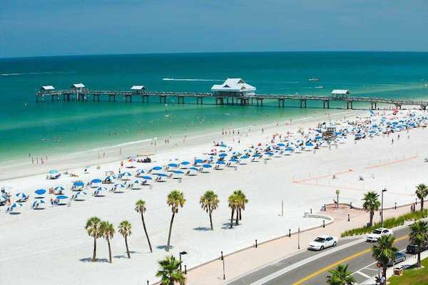 10 praias que devia visitar pelo menos 1 vez na vida- Clearwater Beach