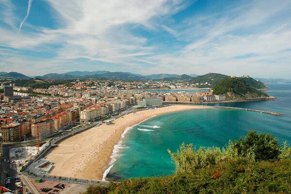 10 praias que devia visitar pelo menos 1 vez na vida- La Concha Beach