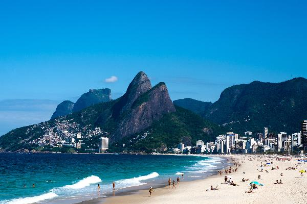 10 praias que devia visitar pelo menos 1 vez na vida- Praia de Ipanema