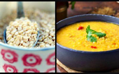 Sopa de lentilhas, saudável e muito saborosa