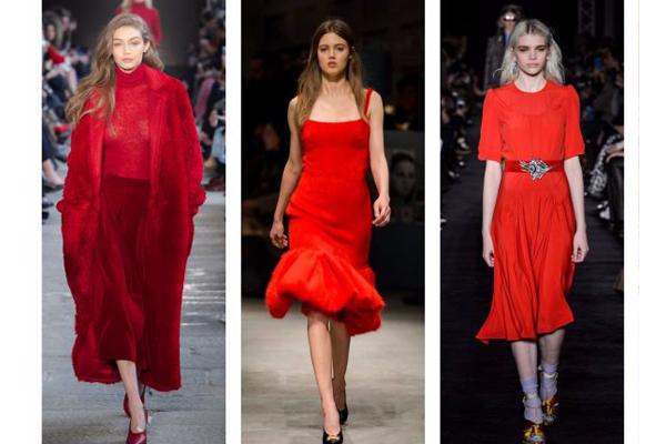 Tendências de cores de roupa de verão 2018- Vermelho