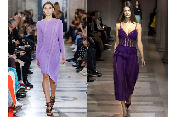 Tendências de cores de roupa de verão 2018- Violeta