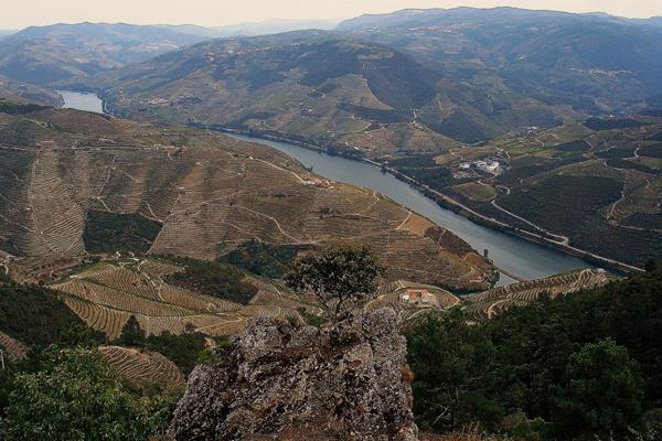 Roteiro de 2 dias no Douro- Vista do miradouro de São Leonardo da Galafura