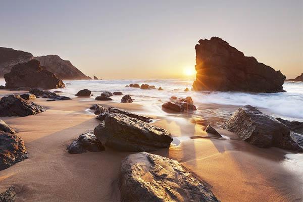 10 praias fantásticas para visitar em Portugal- Praia da Adraga (Sintra)