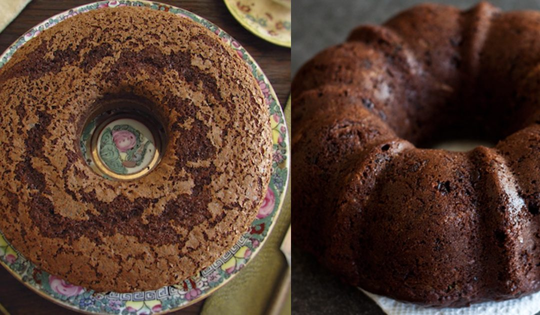 Receita de dois bolos de chocolate que tem de provar