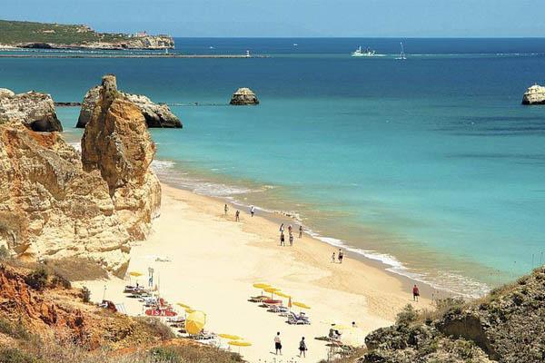 10 praias fantásticas para visitar em Portugal- Praia da Rocha (Portimão)
