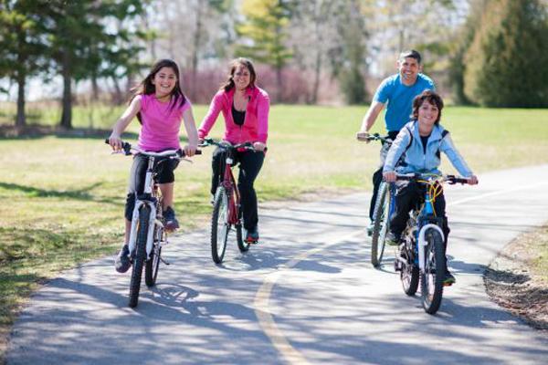 Exercícios que queimam mais calorias- Andar de bicicleta
