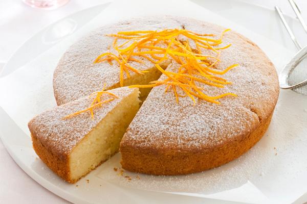 Receita de bolo de laranja e iogurte- Bolo de laranja e iogurte