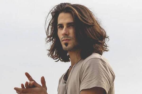 Tendências de cortes de cabelo para homem 2018- Cabelo comprido