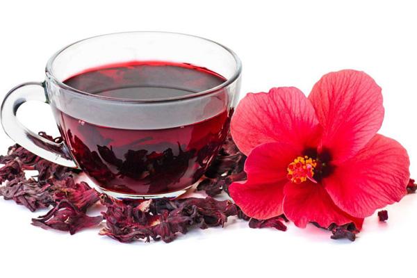 Chá de hibisco e canela, um aliado no emagrecimento- Chá e flor de hibisco