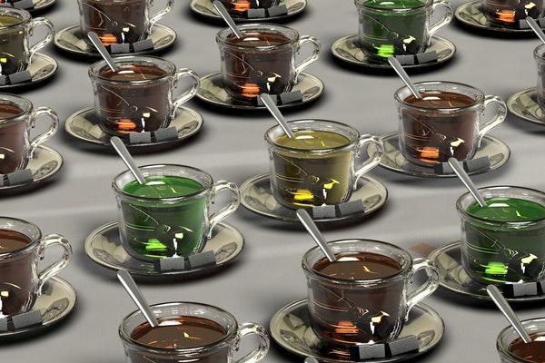 Alimentos que ajudam a manter a boa forma durante o verão- Chás
