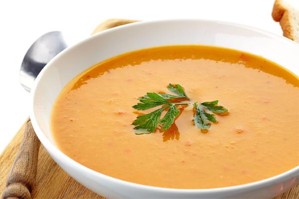 Creme de cenoura e gengibre, para manter a forma neste verão- Creme de cenoura e gengibre