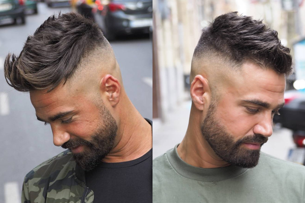 Tendências de cortes de cabelo para homem 2018- High Fade
