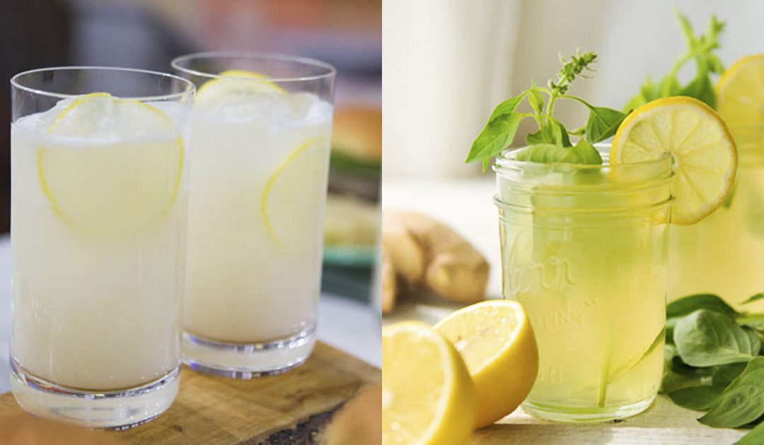 Limonada- 2 receitas deliciosas + benefícios para a saúde