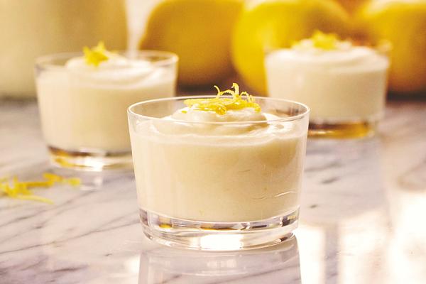 Mousse de limão, uma sobremesa fresca para o verão- Mousse de limão
