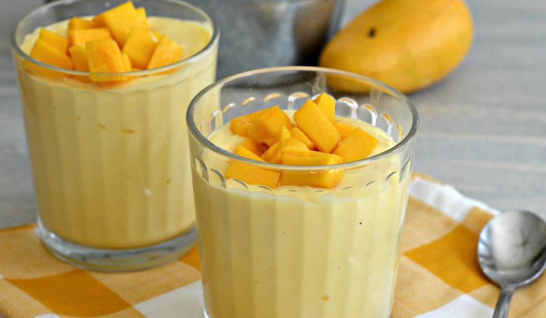 Mousse de fruta, saudável e deliciosa