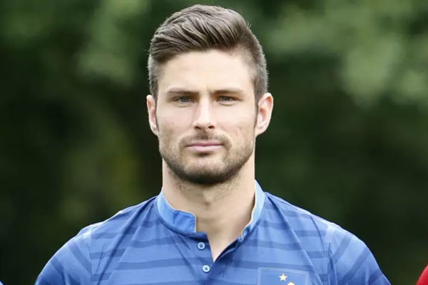 Os 10 jogadores mais bonitos do Mundial 2018- Olivier Giroud
