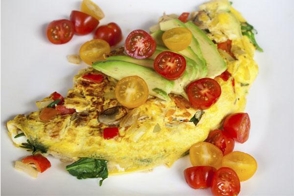 Uma refeição rápida, completa e nutritiva para quando não tempo de cozinhar- Omelete de atum