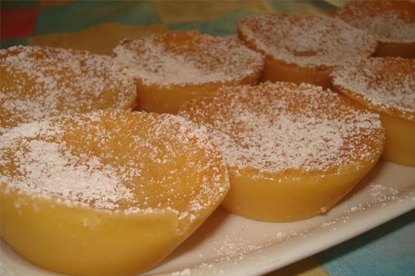 Queijadas de leite e laranja, um doce de fazer água na boca- Queijadas de leite e laranja