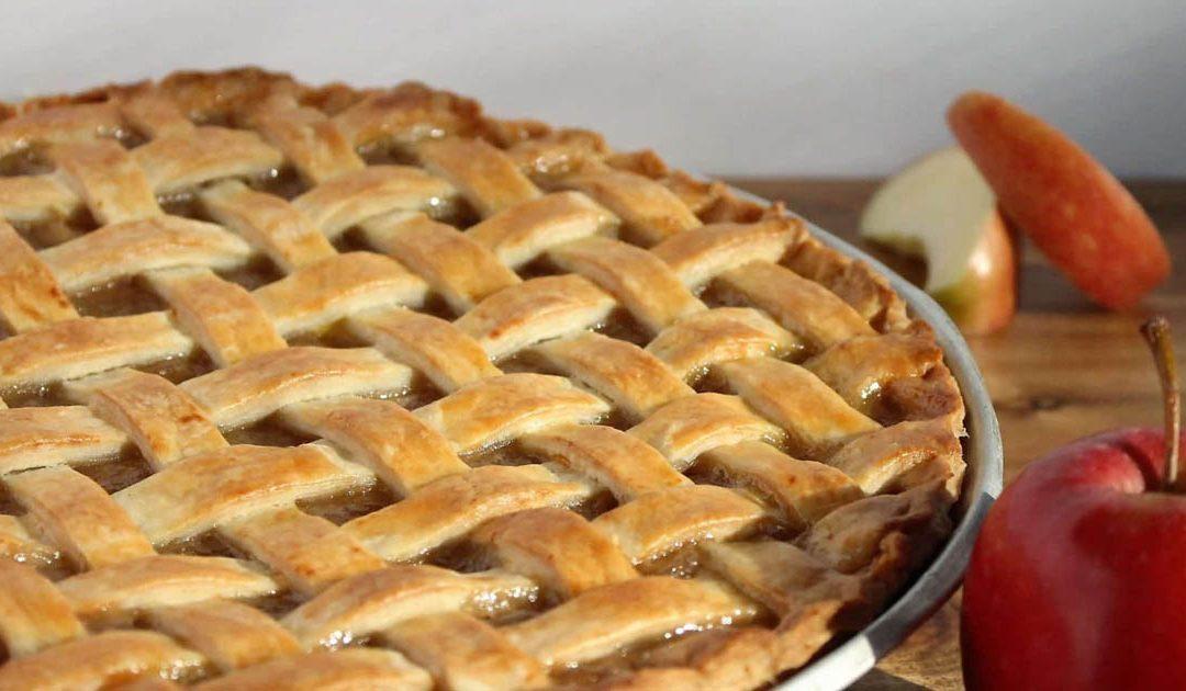 Receita de tarde de maçã sem açúcar e sem culpa
