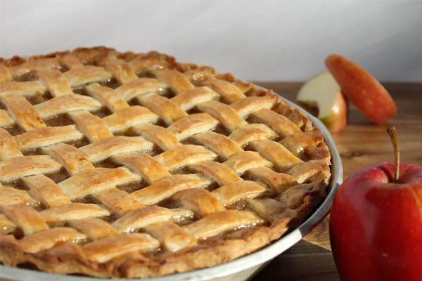 Receita de tarde de maçã sem açúcar e sem culpa- Tarte de maçã sem açúcar